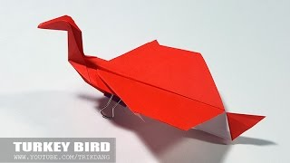 Best paper Planes: How to make a Paper Airplane - Special origami for Thanksgiving | Turkey Bird