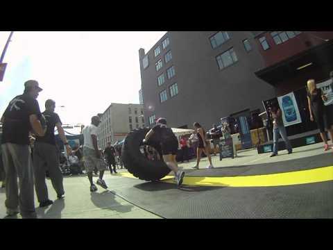 Tire Flippin at Femsport