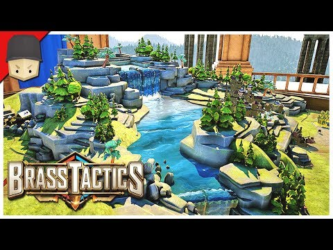 Brass Tactics: THE TABLETOP BATTLEFIELD! (Oculus Rift Gameplay)