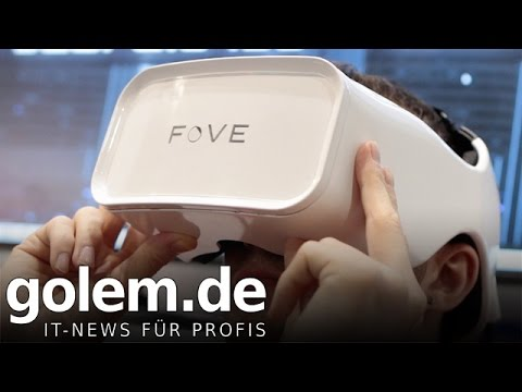 CES 2015: Head-Mounted-Display Fove mit Eye Tracking- Hands on