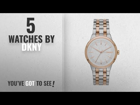 Top 10 Dkny Watches [2018]: DKNY Women's 'Park Slope' Quartz Stainless Steel Casual Watch (Model: