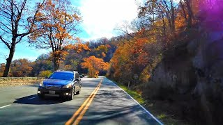 Fall Season Shenandoah National Park Skyline Drive - 4K