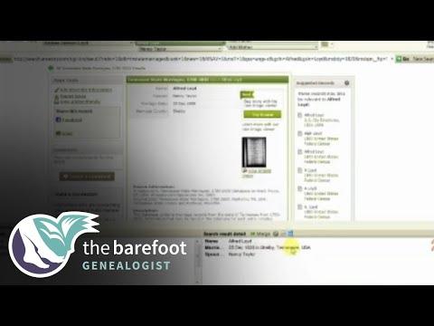 Family Tree Maker:  Web Search