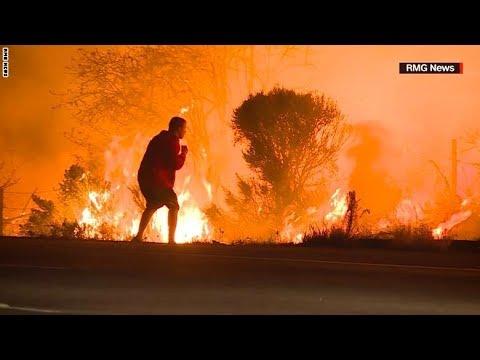 رجل يخاطر بحياته لإنقاذ أرنب من النيران  - نشر قبل 3 ساعة