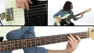 ????All The Small Things (Blink 182) - Bass Guitar Lesson: With The Band - Ryan Madora