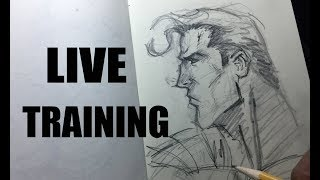 [LIVE TRAINING] How to Draw & Sell Your First Sketch....for Beginners