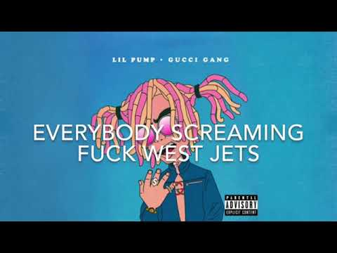 Lil Pump - Gucci Gang (Lyrics)