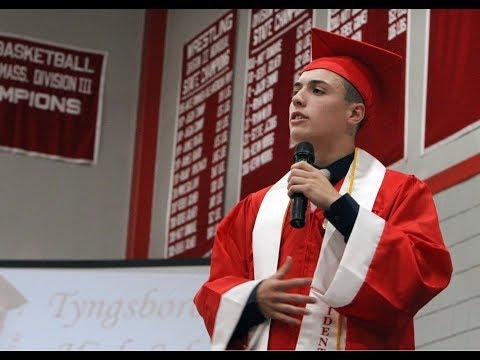 Corey O'Neill 2018 Tyngsborough High School Graduation Speech