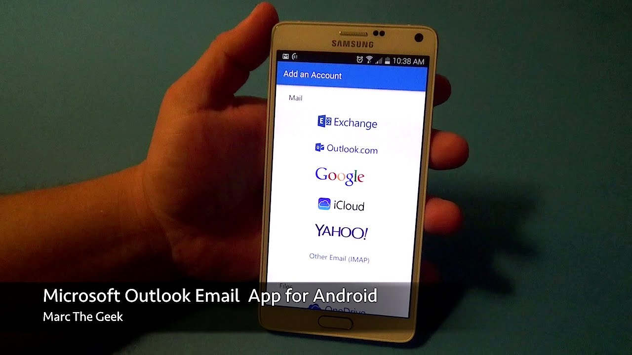 Microsoft Outlook Email App for Android