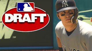 DRAFTED AND GOING STRAIGHT TO THE MLB! MLB The Show 18 Road To The Show