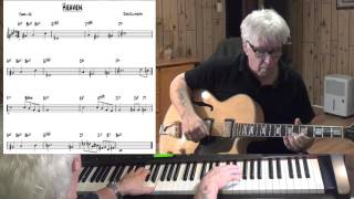 Heaven - Jazz guitar & piano cover ( Duke Ellington )