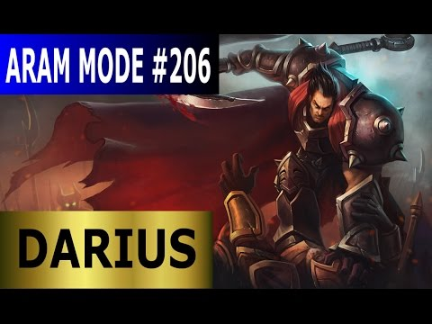 Darius - Aram Mode #206 - Full League Of Legends Gameplay [German] Let's Play LoL