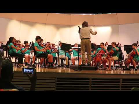 Old Donation School Summer Orchestra Performs Salisbury Overture