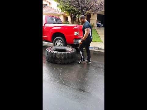 Beast Mode tire flips