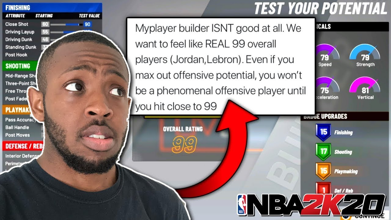 Why The NBA 2k20 Demo Is Trash... - YouTube