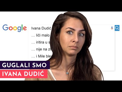 GUGLALI SMO: Ivana Dudić | S01E09
