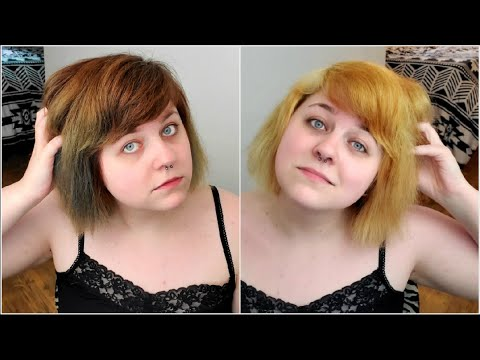 Bleach Bath On Brown Hair