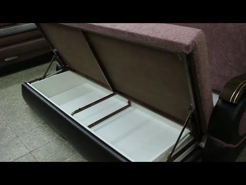 "Прямой диван ""216""  Металлокаркас"