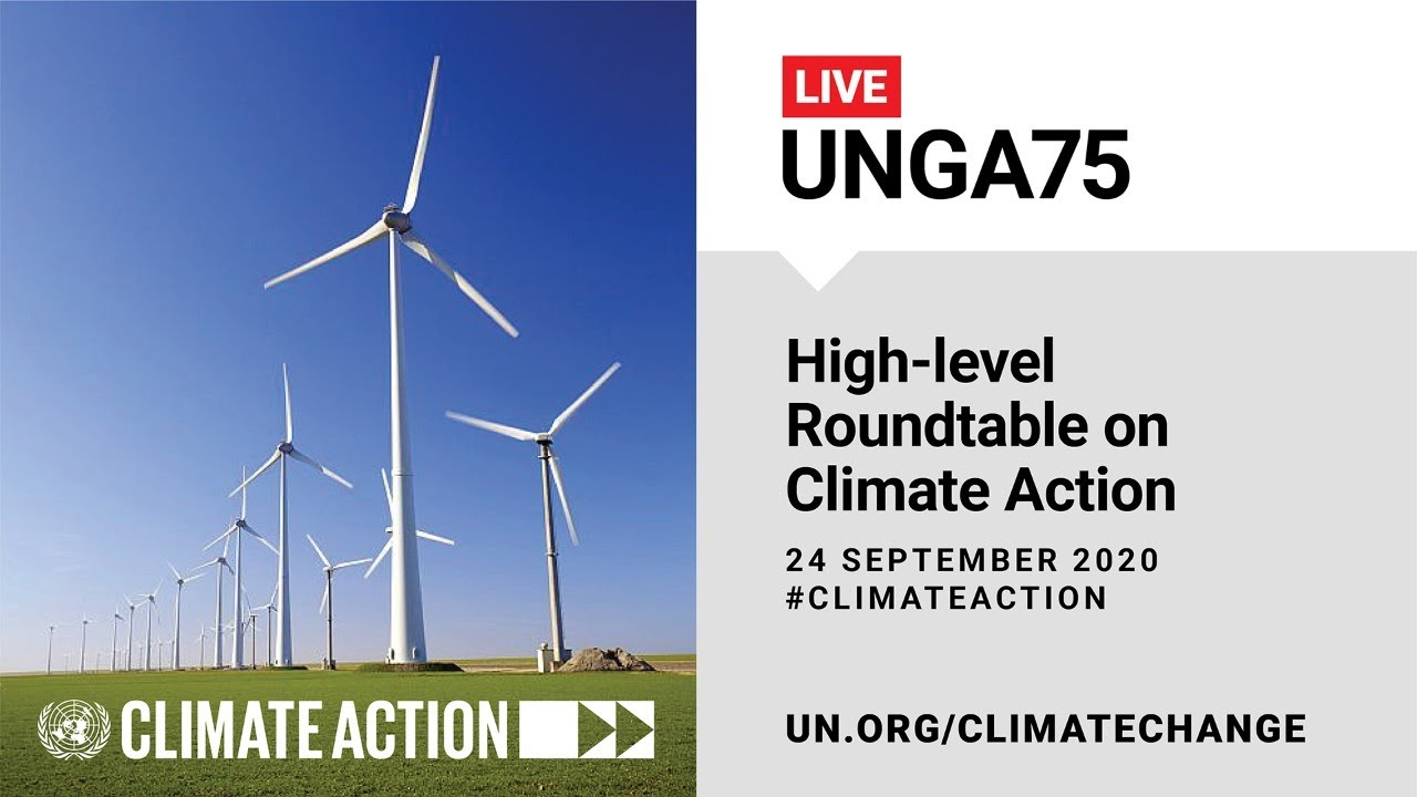 High-Level Roundtable on Climate Action – 24 September 2020