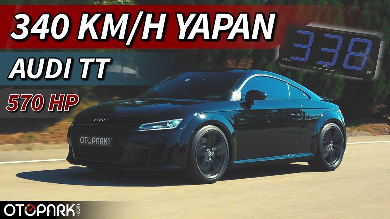 340 km/h yapan Audi TT 8S Stage 5