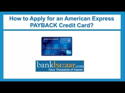 How To Apply For An American Express Payback Credit Card
