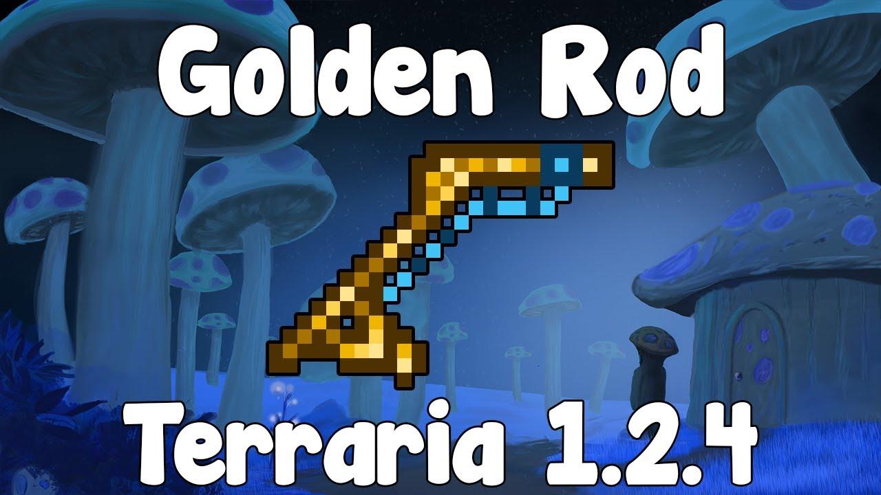golden rod terraria 1 2 4 guide new fishing rod
