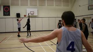 2018 Vancouver Fall League - No Logo vs Talisman - Roundball BC Mens Basketball League