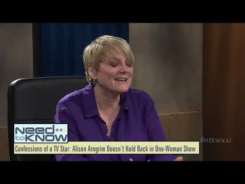 Need to Know   September 20, 2018   Alison Arngrim