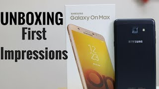 Samsung Galaxy On Max Unboxing & First Impressions
