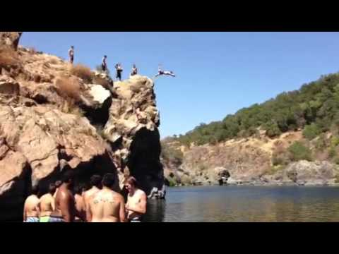 Front Flip Off A Cliff