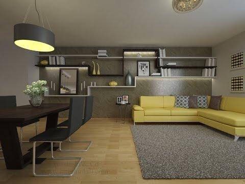 Wohnung modern einrichten. vorher-nachher Einrichtungsprojekt