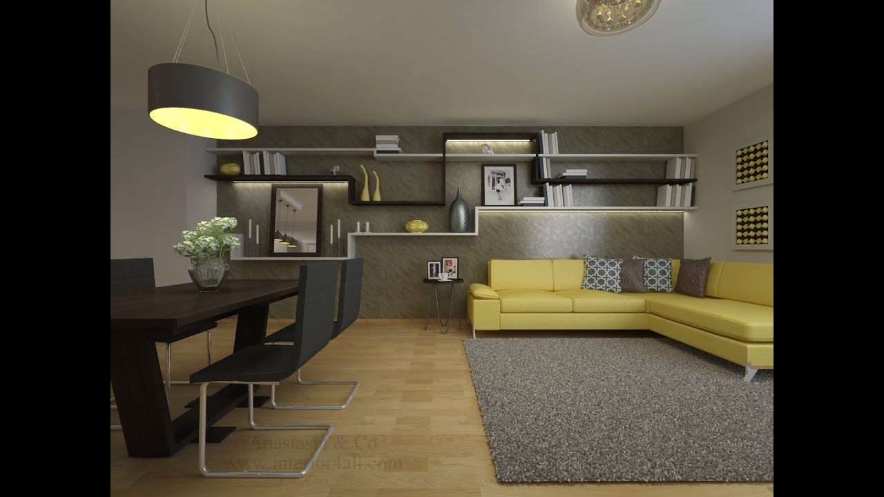 Wohnung modern einrichten. vorher nachher ...