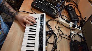 DFAM jam with Moog Mother 32 and Yamaha Reface CS - Sounds Like PDM