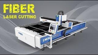 How does Fiber Laser Cutting Machine Work? G.weike LF-4015C Working Video
