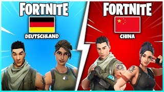 😱 This is what Fortnite looks like in China! | Playground, Free V-Bucks & Skins - Fortnite Battle Royale