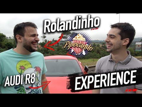 Top Speed Experience   Rolandinho do Pipocando dirigindo o Audi R8 2017