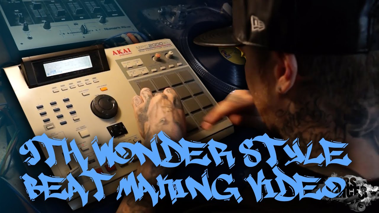 9th Wonder Style Classic Hip Hop Soul Sample MPC Beat Making Video ...