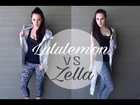 Lululemon Vs Zella Haul and Review