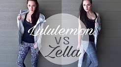 Lululemon Vs Zella Haul and Review