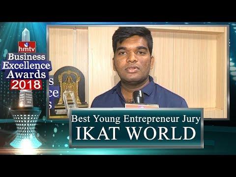 IKAT WORLD | Best Young Entrepreneur Jury Award | BEA 2018 | hmtv News