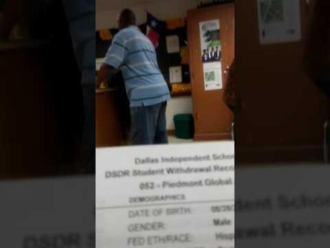 Piedmont Global Academy Street Ghetto IN-SECURITY, Teachers vs Students.