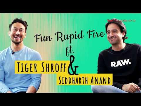 Kabir Singh or Super 30 - Tiger Shroff's UNEXPECTED Answer | RAPID FIRE | War | Hrithik Roshan