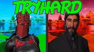 LE SKINS TRYHARD - SCHWITZER OUTFITS - FORTNITE BATTLE ROYALE