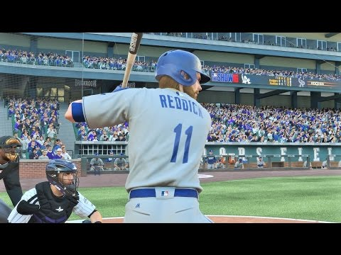 MLB 16 The Show | Josh Reddick Makes His Dodgers Debut!