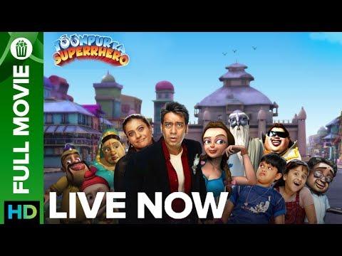 Toonpur Ka Superhero | Full Movie Live on Eros Now | Ajay Devgn & Kajol Mp3