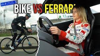 I raced a Ferrari across Central London, on a bicycle