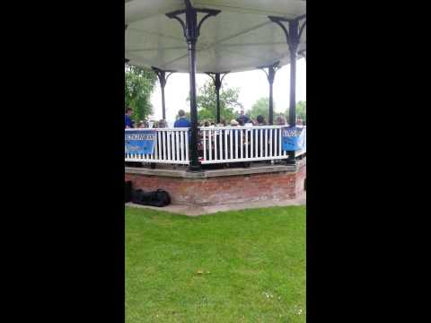 Guns or Roses,  Droitwich Spa bandstand 2014