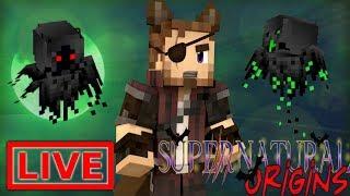 Minecraft Supernatural Origins #21.5 (Live Modded Survival)