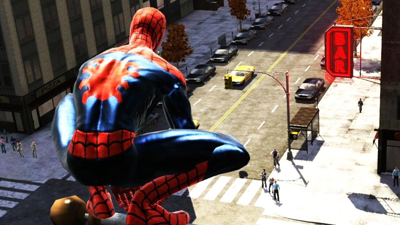 Spider-Man Web of Shadows - Evil Path (Xbox 360) Walkthrough part 2 - GTA  STYLE