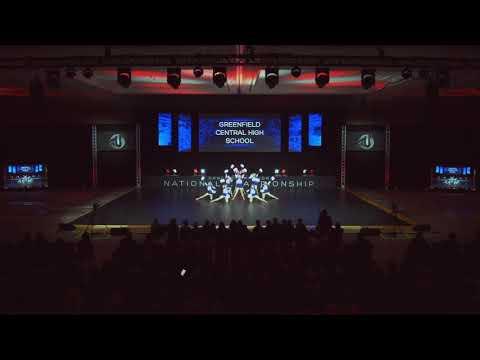 2019 DTU Nationals Finals Junior Varsity Pom Greenfield Central High School